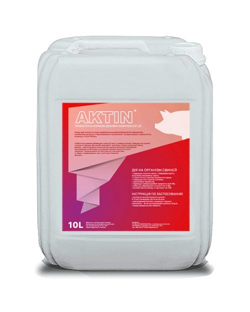 кормовая добавка АКТИН пробиотик премикс